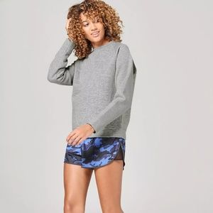 Ivy Park Quilted Crew Neck Sweater︱Size S